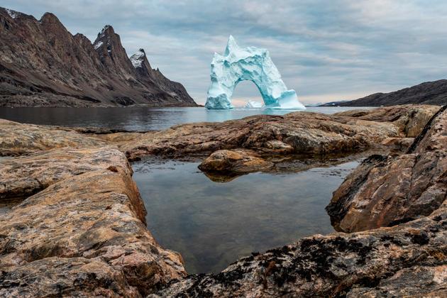 Chris Anderson Bear Island Greenland 16x