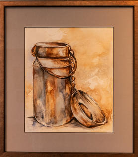 """Rust Bucket"" by Sandra Tomey"