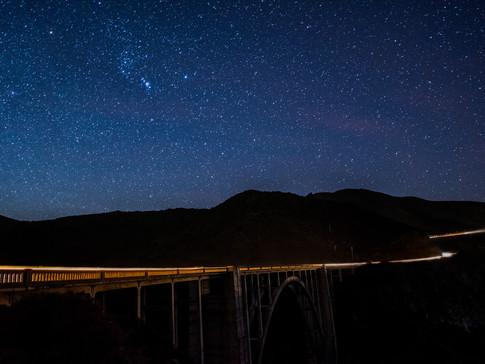 Bigsby Bridge Under the Stars