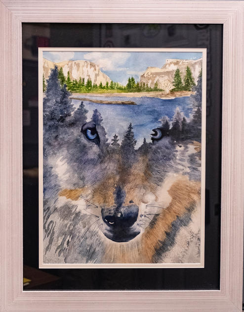Timber Wolf by Deanna Fitz