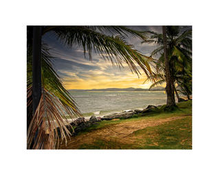 Puerto Rico Sunset by Robert Richrdson