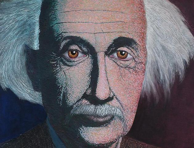 The Eyes of Albert Einstein by Tim Haugh