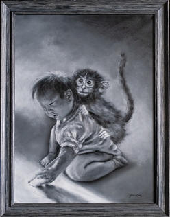 """My Monkey, Max"" by Grace Kim"