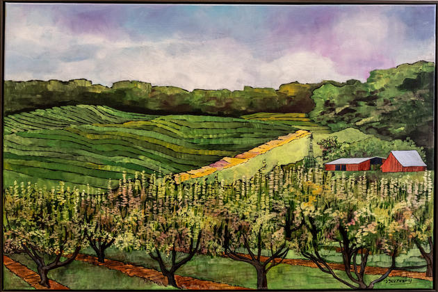 "Georgia Series - ""Peach Row"" by Vickie McCrary"
