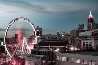 """Skyview Over Atlanta"" by Bryan Galgano"