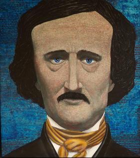 """Edgar Allan Poe"" by Tim Haugh"