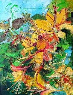 """""""Spring Colors"""" by Vickie McCrary"""