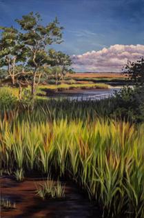 """Low Tide Marsh"" by Jessica Valderrama"