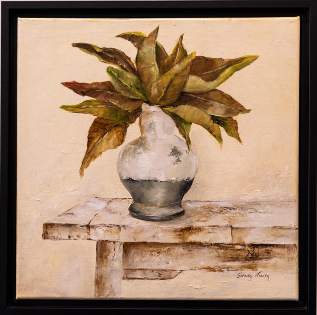 Magnolia Leaves by Sandra Tomey