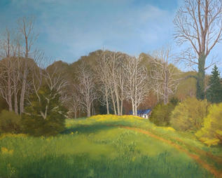 """Birch House Spring"" by David Phillips"