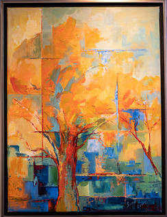 Autumn Tree by Summer Lowe
