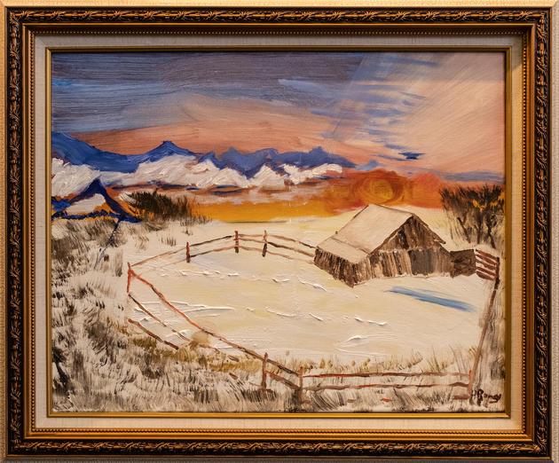 """""""El Paso"""" by Howard Ramey"""