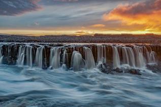 Chris Anderson Selfoss Waterfalls Icelan