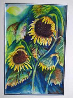 Sunflowers by Sharon Nichol