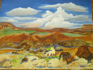 Somewhere out West II by Sharon Nichol
