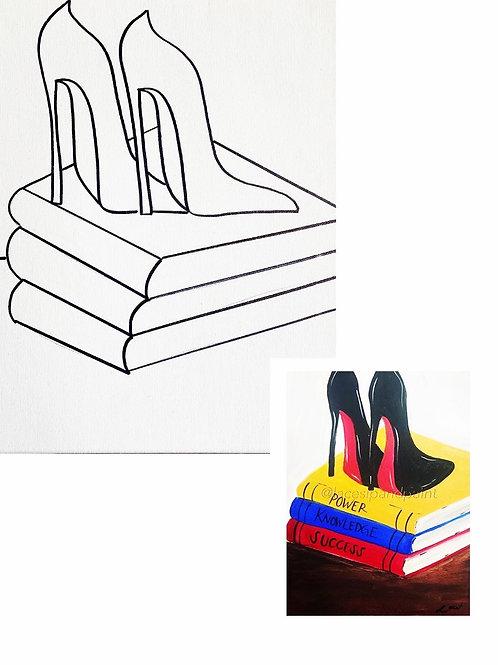 Beauty & Brains Paint Kit