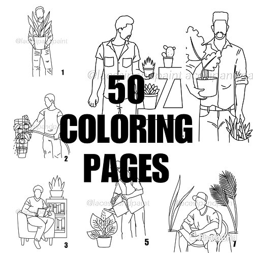 50 Coloring Pages