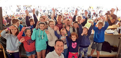 Awesome crowd at CarFest South