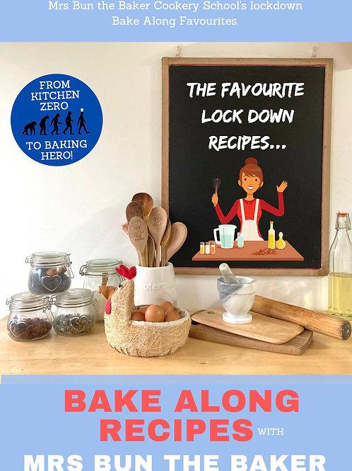 Friday's Facebook Bake along A5 Recipe Cards