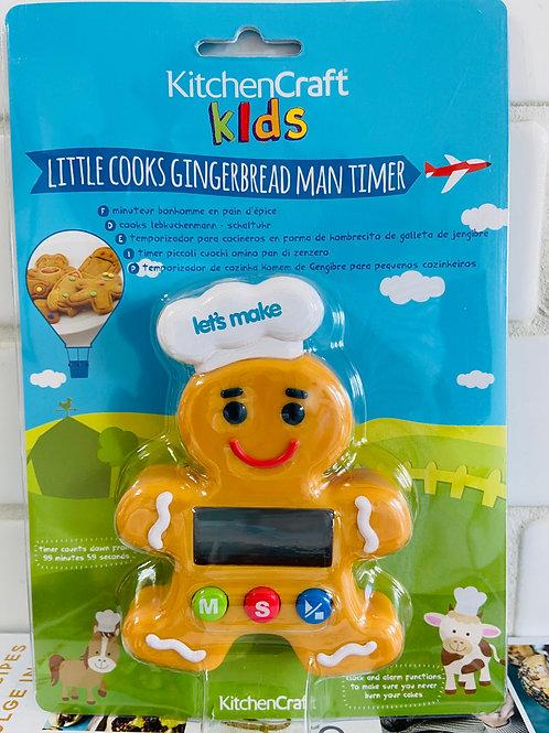 Gingerbread man Timer