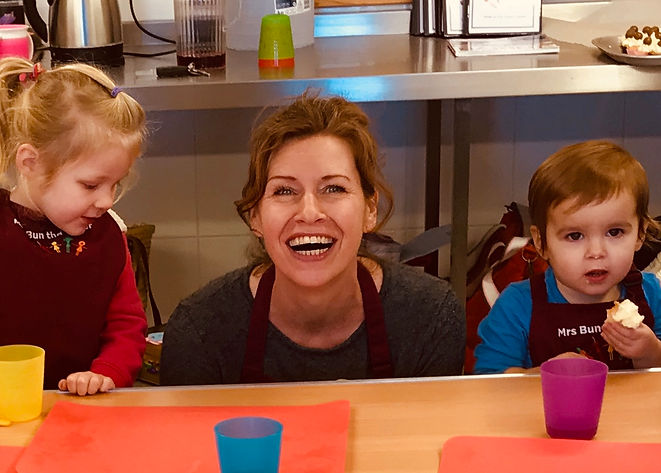 Mrs Bun the Baker Cookery School Toddler Classes