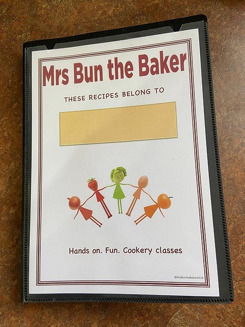 Mrs Bun the Baker Recipe File