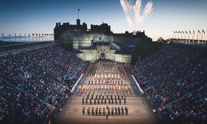 Royal Edinburgh Tattoo, Cruise & Rail