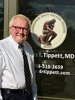 Dr James Tippet, MD Greensboro GA. Been in practice for over 30 years. CQHP is hands on care that is affordable & reliable. Quality time with Doctor during visit.