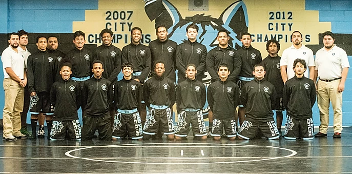 2017 Wrestling team picture