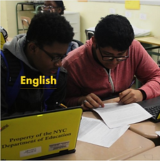English - Students close reading