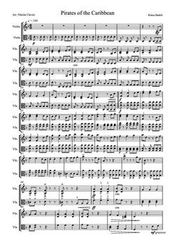Pirates of the Caribbean Medley - violin and viola (dragged)