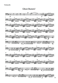 Chost Buesters for string quartet - score and parts (dragged) 2