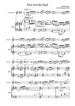 5 Vignettes from Norwegian Nature (Score and sax part) (dragged)