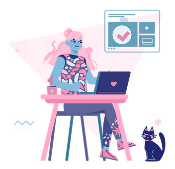 Illustration of woman working from home.png