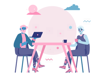 Illustration of two women socialising at a table.png