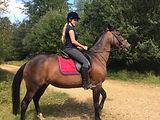 Jodie riding horse