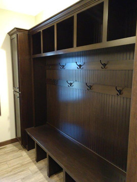 Cubby in Mudroom
