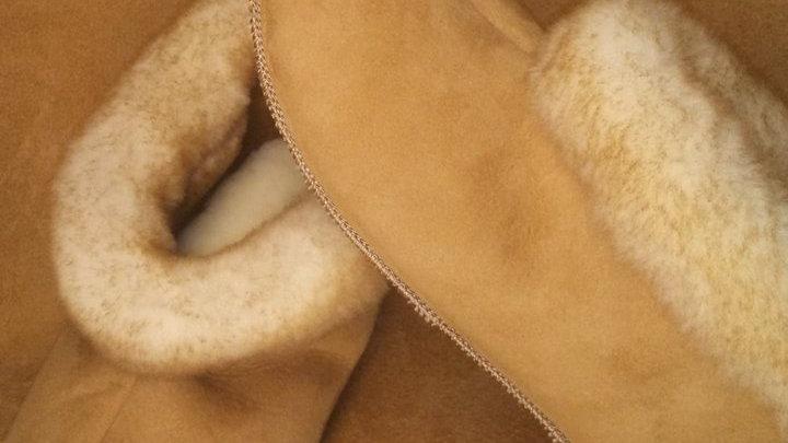 Women's Short Cuffed Slippers