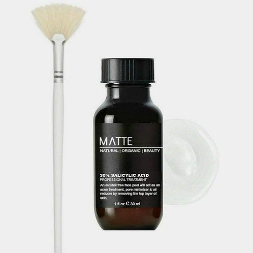 MedSpa Style Salicylic Acid Treatment 30% Cream /w Fan Brush