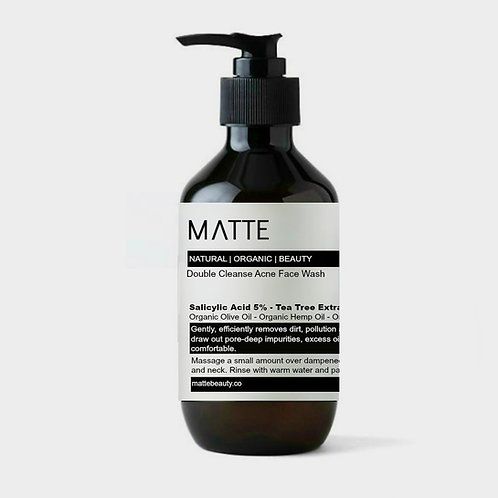 Double Cleanse Acne Face Wash w/ 5% Salicylic Acid