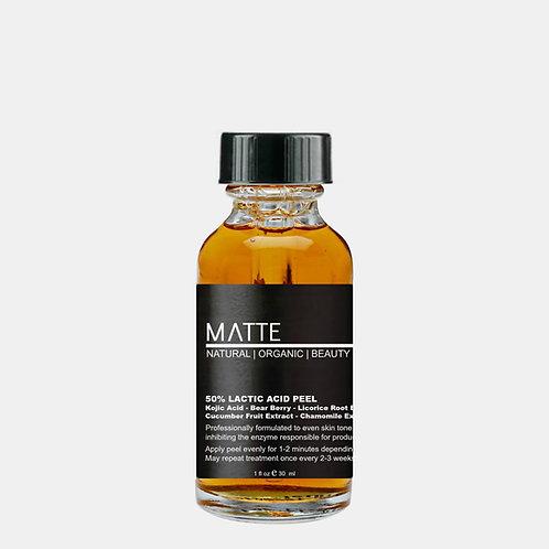 Lactic Acid 50% Peel Enhanced with Kojic Acid & Bearberry Extract