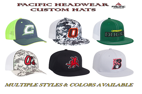 PACIFIC HEADWEAR® CUSTOM HATS