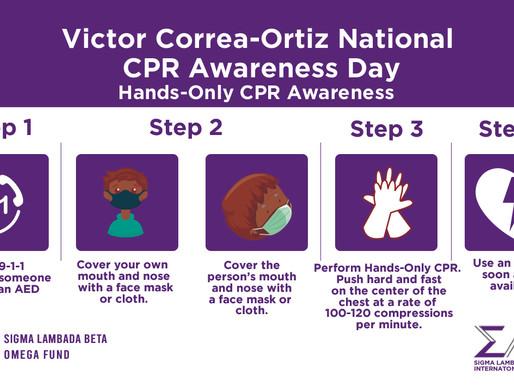 Victor Correa-Ortiz CPR Awareness Day