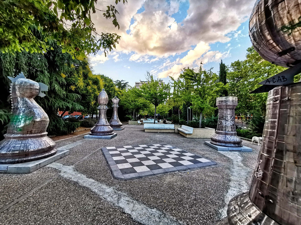 Jardines de Pablo Sorozabal en Madrid
