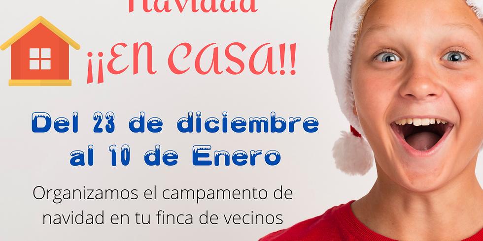 Campamentos Urbanos Navidad ... ¡¡EN CASA!!