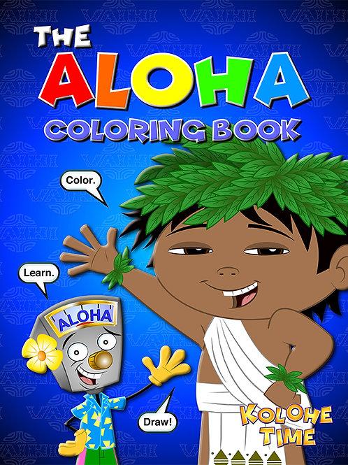 The Aloha Coloring Book