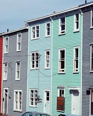 Reihe der Häuser