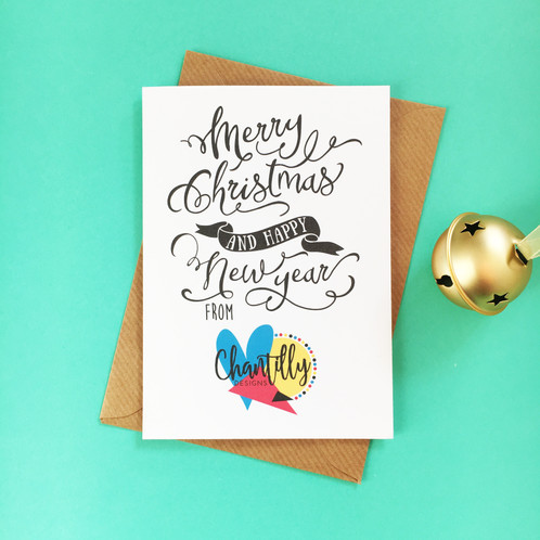 Personalised business christmas cards graphic designer rushden personalised business christmas cards reheart Images