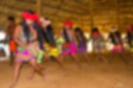 Emeberá Reserve dancers