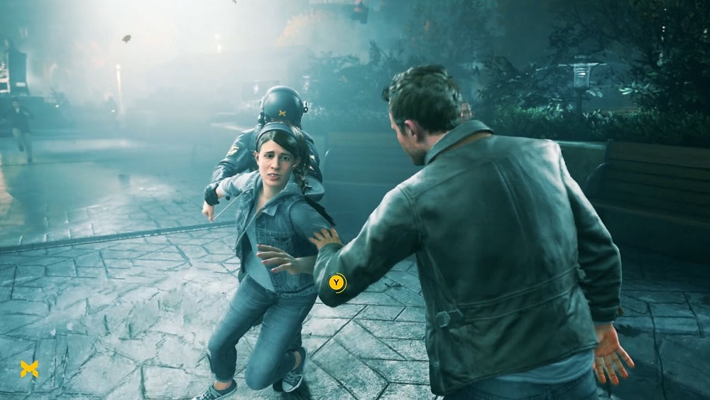 Quantum break - Quicktime event